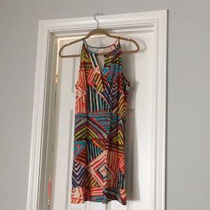 Jcrew multicolored dress